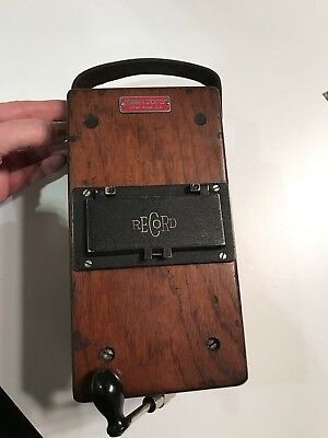 Vintage 1951 Record Electrical Company Ohm-megohm Meter- Herman H. Sticht Co.