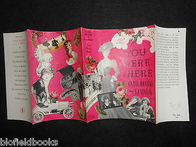 ORIGINAL VINTAGE DUSTJACKET (ONLY) for You Were There by Caryl Brahms/S J Simons