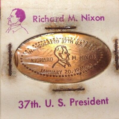 Richard Nixon Inaugurated 37Th Us President 1969 On A 68 Us Cent