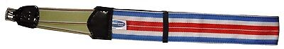 Horse Racing Girth~Medium Weight~ 3Inch Rubber Lined Elastic 1 side ~All Sizes