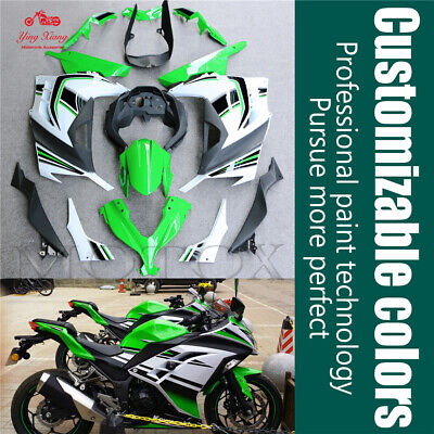 Fairing Bodywork Panel Kit Set For Kawasaki Ninja 300 13-14-15-16-17 Motorcycle