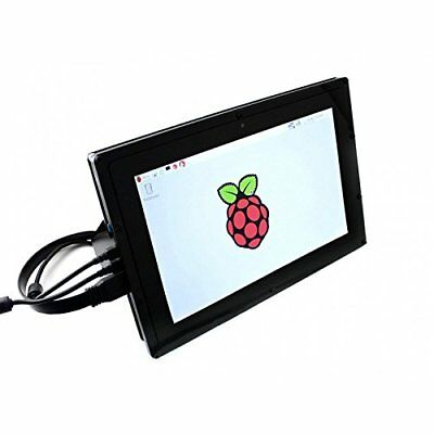 Waveshare 10.1inch HDMI LCDB with case IPS Touchscreen 1280x800 Capacitive Pi 3