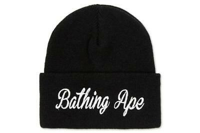 A BATHING APE BAPE Knit Cap in Black NWT -  91.99  39a80e0ad51