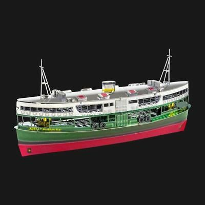 Metal Earth Hong Kong Star Ferry DIY laser cut 3D steel model kit
