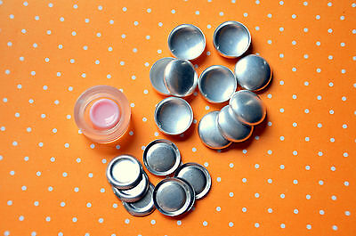 25 x self cover flat back buttons size 30 (19mm) + TOOL + INSTRUCTIONS