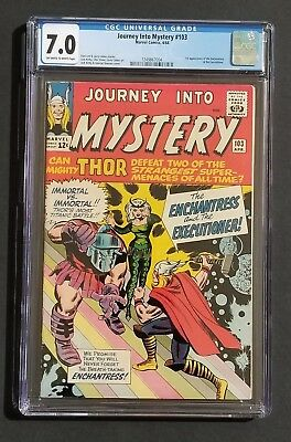 Journey Into Mystery #103 • 1St Enchantress, Skurge • Cgc 7.0 • Infinity War