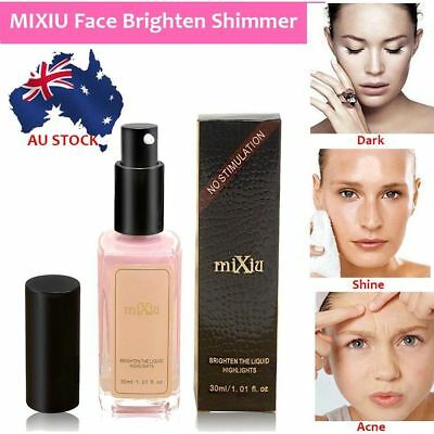 MIXIU ace Brighten Shimmer Glow Liquid Eye Highlighters Long-lasting A2