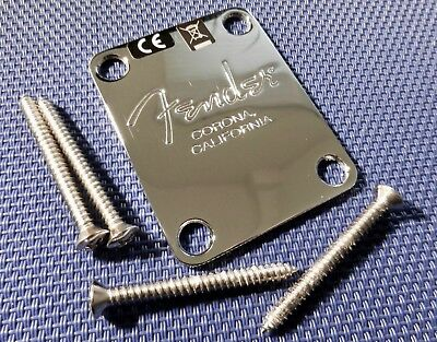 Fender American Professional Jazz Bass V 5 String NECK PLATE J Precision Corona