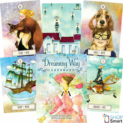 Dreaming Way Lenormand Oracle Deck Cards Lynn Araujo Esoteric Telling Astrology