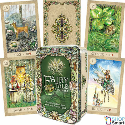 Fairy Tale Lenormand Oracle Deck Cards Arwen Lynch Lisa Hunt Esoteric Telling