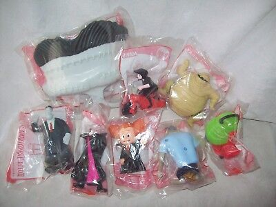 McDonalds HOTEL TRANSYLVANIA 2 Complete Set of 8 toys - all new in packets