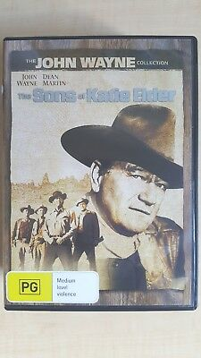 The Sons Of Katie Elder  DVD ] Region 4, FREE Next Day Post from NSW