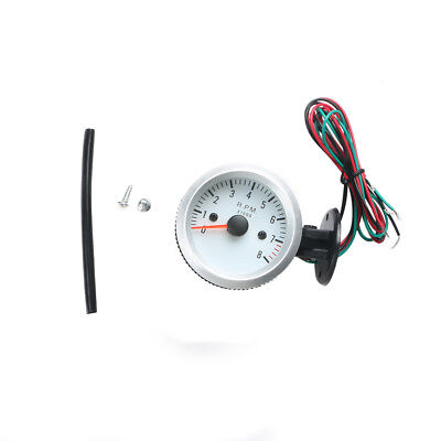 2Inch 52mm Universal 0-8000RPM Blue LED Car Tachometer Tacho Gauge Meter NEW