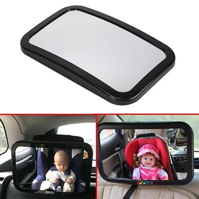 Car Baby Child Seat Facing Mirror Inside View Back Safety In Rear Headrest Mount