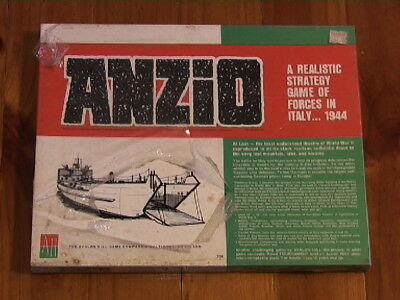 ANZIO by AVALON HILL (from 1969, 2nd edition) -factory sealed/unopened/NEW!