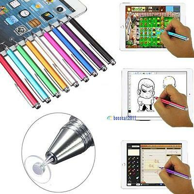 Fine Point Round Thin Capacitive Stylus Pen for iPad 2/3/4/5/Air/Mini/iphone P7