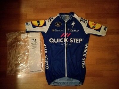 maillot jersey maglia cuissard bibs cycling team quick step floors vermarc socks