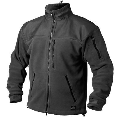 Helikon-Tex Classic Army fleece military jacket black