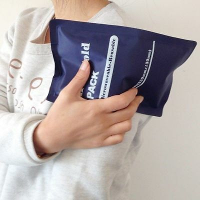 Sport Reusable Hot / Cold Gel Ice Pack Sports Muscle / Back Aches Pain Relief !