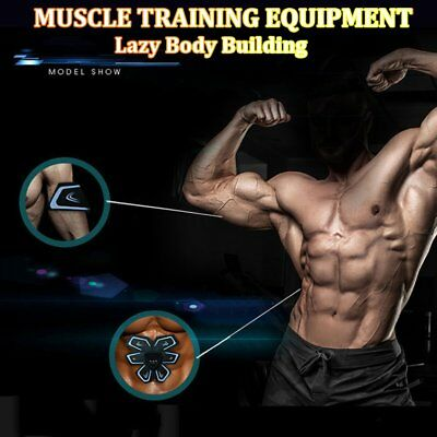 Abdominal Waist Body Muscle Trainer Belts USB Rechargeable Training Equipment N~