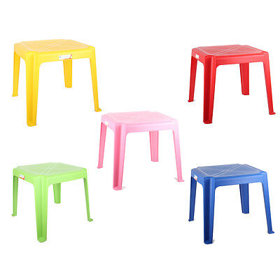 Kids Children Plastic Table Stackable Strong High Quality Suitable For Outdoor