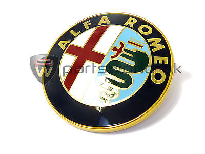 Alfa Romeo 916 GTV & Spider Front Grille Badge 60596492 Brand New Genuine