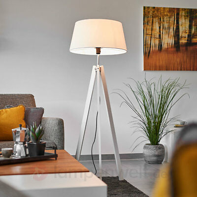 tripod retro stativ steh lampe loft bauhaus holz dreibein silber schwarz neu 4 eur 85 00. Black Bedroom Furniture Sets. Home Design Ideas