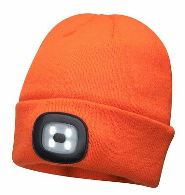 Beany hat head light with 3 stage 10 lumens 4 LED torch Welzh 35103-WW