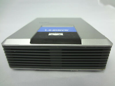 SPA2002 Linksys Unlocked 2 FXS Ports SIP IP VoIP Phone Adapter