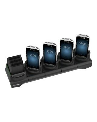 Zebra 5Slot Charge Only Cradle w/Spare Battery Charger Handheld-Ladeschale + Akk