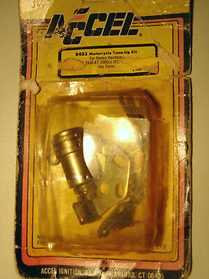 """Accel 8403 Motorcycle Tune up Kit for Harley-Davidson 61"""" , 1936-47"""