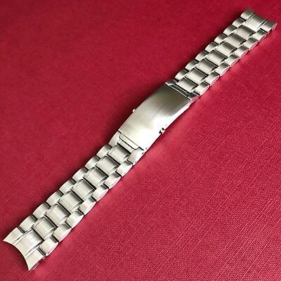 20mm Replacement Stainless Steel Watch Bracelet Band For Omega Speedmaster