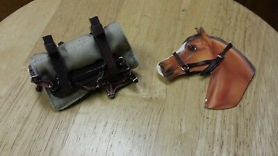 Breyer  Stone hartland size  pack mule harness set hands