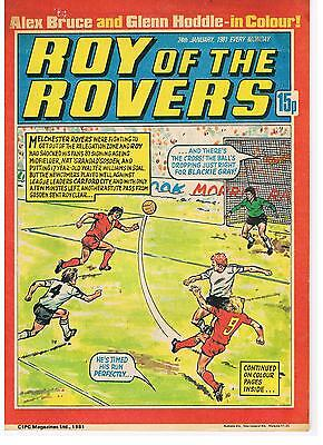 Buy Individual Roy of the Rovers 1980/81/82/83/84 Comics VGC+ See list