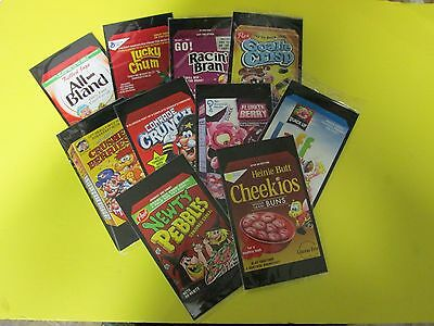 Wacky Packages 50Th Anniversary Topps 2017 Complete Set Of 10 Over-Sized Toppers