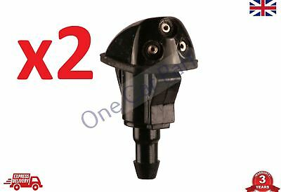2x FRONT WINDSCREEN WASHER JET SPRAY Nozzle HYUNDAI i10 2007-2008-2009-2010-2013