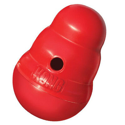 Kong Wobbler Treat Dispensing Dog Toy Easy Filling And Cleaning Large - 1 Toy