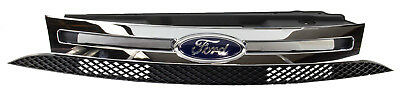 NEW OEM 2008-2011 Ford Focus Chrome Radiator Grille with Emblem 8S4Z8200BA