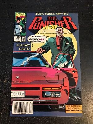The Punisher#35 Awesome Condition 8.0(1990) Jigsaw Return