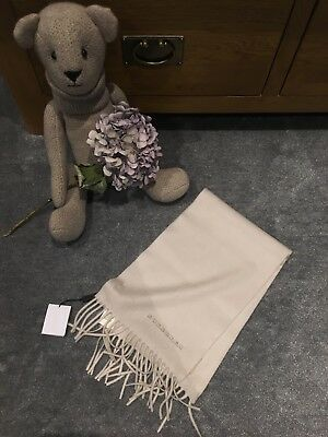 ~  Authentic 100% Cashmere The Mini Classic Scarf from BURBERRY, BNWT, £195! ~