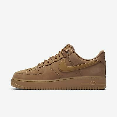 Nike Air Force 1 Low Aa4061-200 Flax Flax Gum Light Brown Outdoor Green