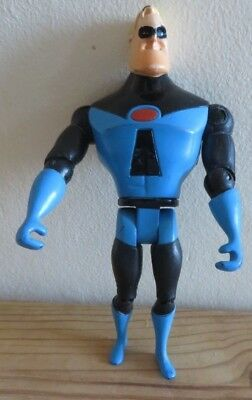 Disney Pixar The Incredibles Mr Incredible In Blue Suit Movable Joint Figure Toy