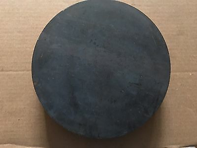 2 Inch X 10 5/8 Inch Round/disc Metal Plate A36 Grade Steel