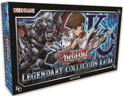 YUGIOH Legendary Collection KAIBA BOX w/ 3 MEGA BOOSTER PACKS (UNLIMITED)