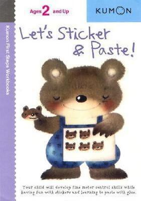 NEW Let's Sticker and Paste! By UNKNOWN Paperback Free Shipping