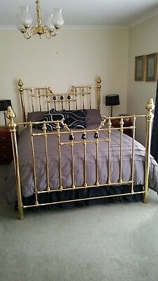Brass Queen size Bed