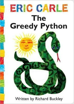 NEW The Greedy Python By Richard Buckley Board Book Free Shipping