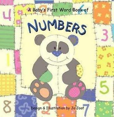 NEW Numbers By Jo Joof Board Book Free Shipping