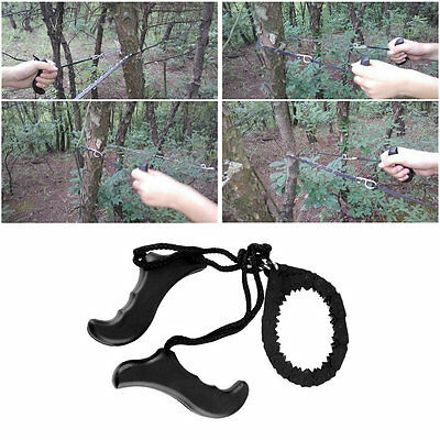 Outdoor Emergency Survival chain Saw Sawing Pocket Plastic handle Tools New NI