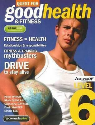 NEW Quest for Good Health and Fitness Level 6 & eBookPLUS By Peter Wright